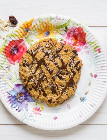 Ciastka owsiane przepis | Imbirowy Garnek