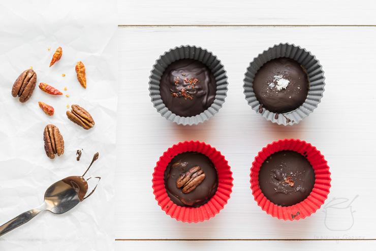 Przepis na czekoladki z masłem orzechowym | Imbirowy Garnek