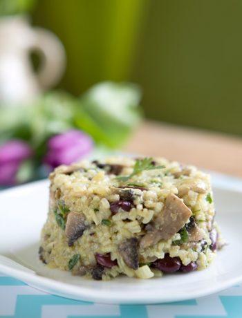 Przepis na risotto z pieczarkami | Imbirowy Garnek